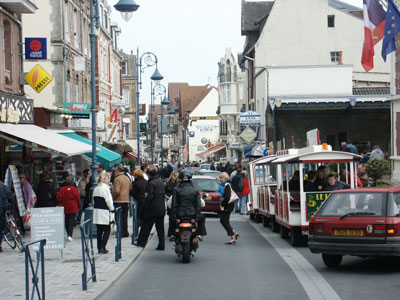 Shopping in der Normandie
